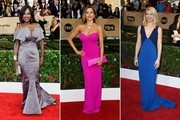 2016 SAG Awards Red Carpet Trend: Color