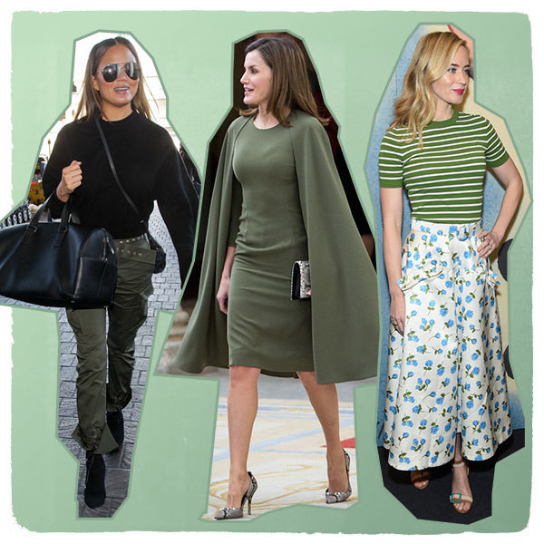 How Celebs Wear Green For St. Patrick's Day