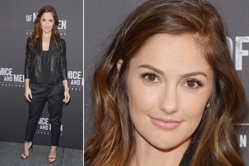 Minka Kelly's All-Black Perfection