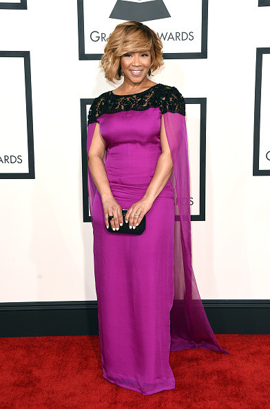Superb Erica Campbell Every Look At The 2015 Grammy Awards Stylebistro Short Hairstyles For Black Women Fulllsitofus