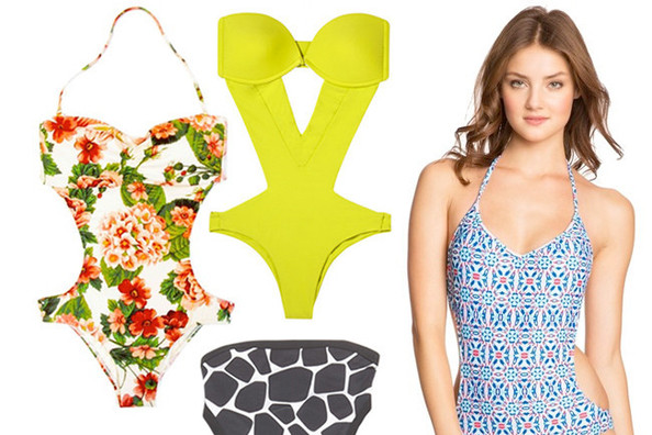 10 Monokini Bathing Suits