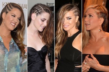Hollywood's Latest Hair Obsession: Side Cornrow Braids