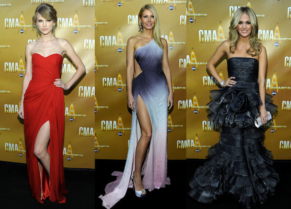 Jennifer Nettles at the 44th Annual CMA Awards