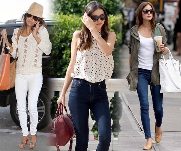 You Voted -  The 10 Best Celebrity Skinny Jean Outfits