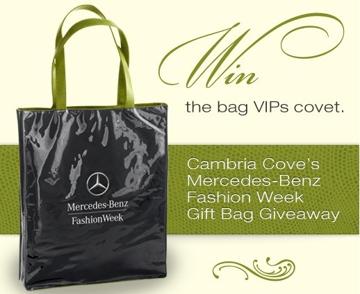 Cambria Cove's Fashion Week Giveaway