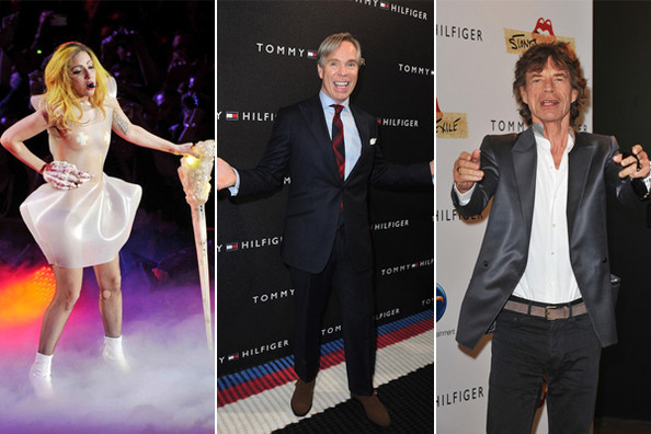Tommy Hilfiger Is Designing Clothing Lines for Lady Gaga and Mick Jagger