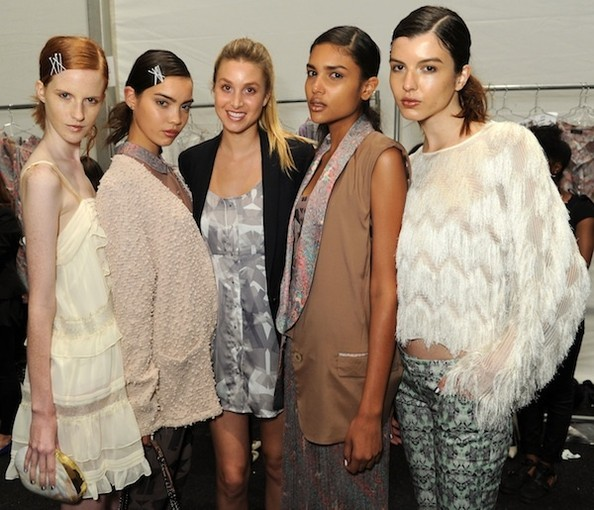 Sneak Peek: Backstage at Whitney Port's Whitney Eve Spring 2013 Show