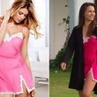 Andi Dorfman's Pink Slip with Lace Trim on 'The Bachelorette'