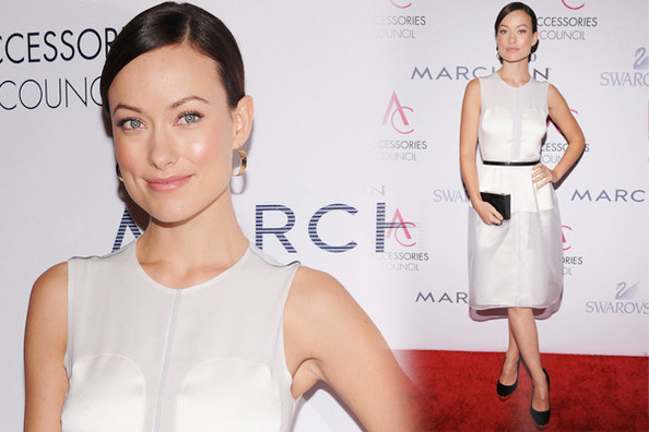 Look of the Day: Olivia Wilde's Little White Dress