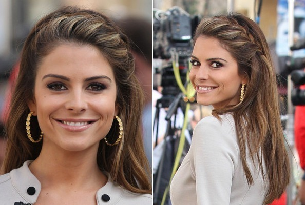 Maria menounos face framing french braid do it yourself how to do it yourself how to get hollywoods best hairstyles at home solutioingenieria Gallery