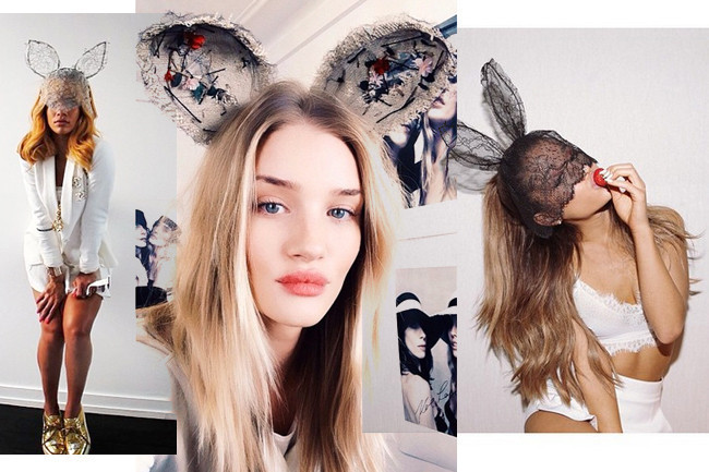 Celebrities Wearing Bunny Ears Stylebistro