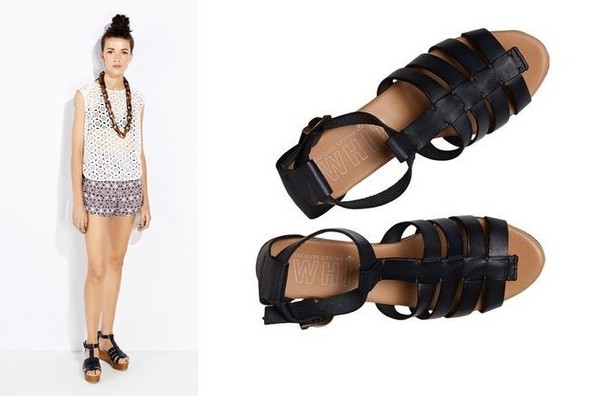 Current Obsession: WHIT + Jacques Levine Sandals