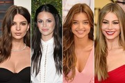 Stunning Hairstyle Ideas from Brunette Celebrities