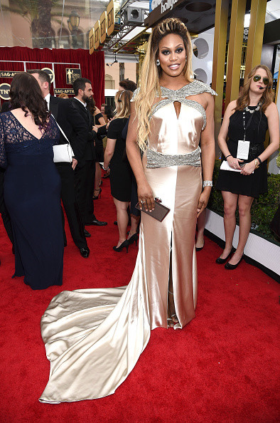 Laverne Cox in Johanna Johnson