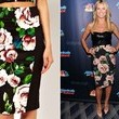 A Floral-Print Pencil Skirt Like Heidi Klum's on 'America's Got Talent'