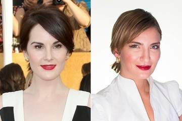 Get the Red Carpet Hair Look: Michelle Dockery