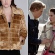 Chloe Bridges' Paneled Faux Fur Jacket on 'The Carrie Diaries'