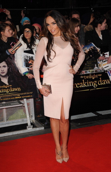 Tamara Ecclestone at the 'Twilight Saga: Breaking Dawn - Part 2' London Premiere