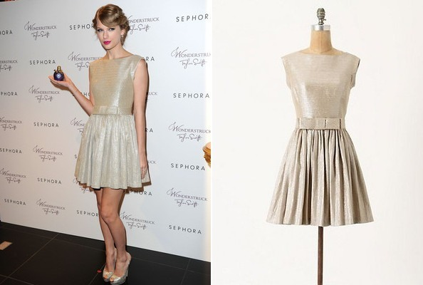 Taylor Swift's Sweet Party Frock