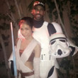 Jhené Aiko and Big Sean as Rey and a Stormtrooper