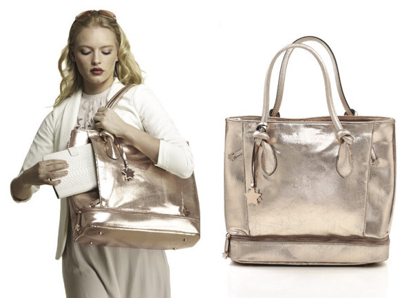 Be Brilliant Body Rose Gold, $265.00, at bebrilliantbags.com