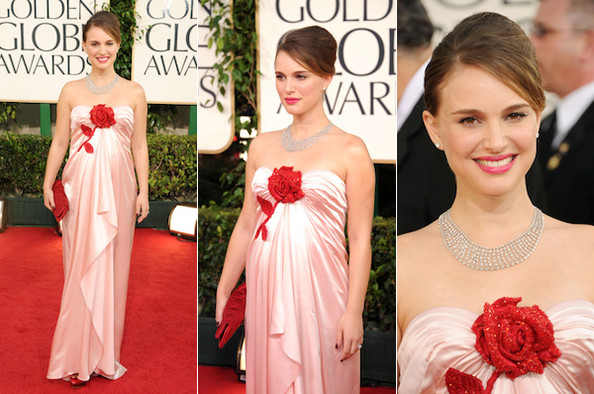 Best Actress Natalie Portman Is Pretty, Pregnant in Viktor & Rolf