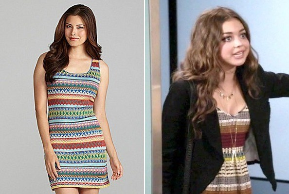 Sarah Hyland's Tribal Dress on 'Modern Family'