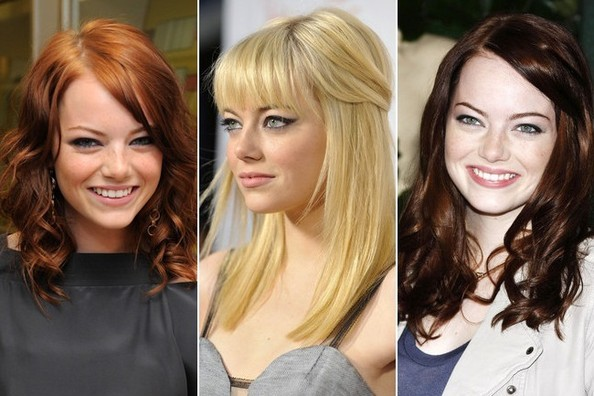 Emma Stone's Hair Transformation