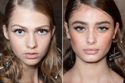 Beauty Inspiration - Backstage at Mila Schon's Spring 2013 Show