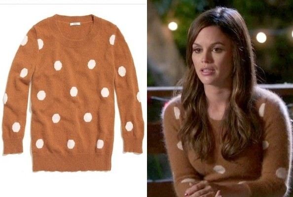 Rachel Bilson's Polka-Dot Sweater on 'Hart of Dixie'