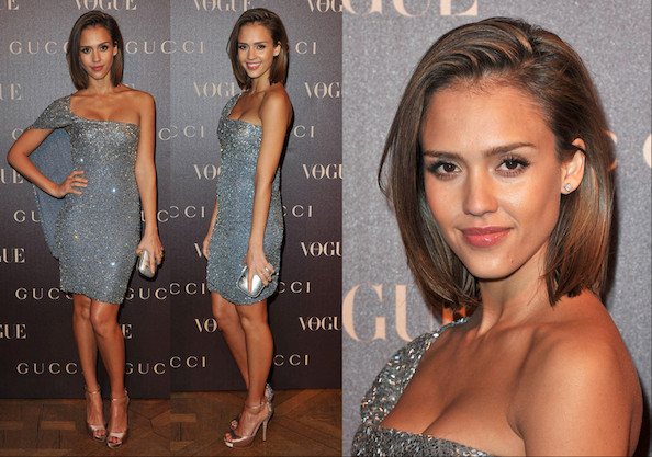 Look of the Day: Jessica Alba in Gucci