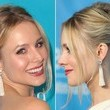 Kristen Bell's French Twist with a Twist