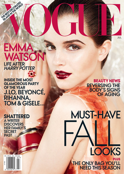 Emma Watson Covers 'Vogue' July Issue