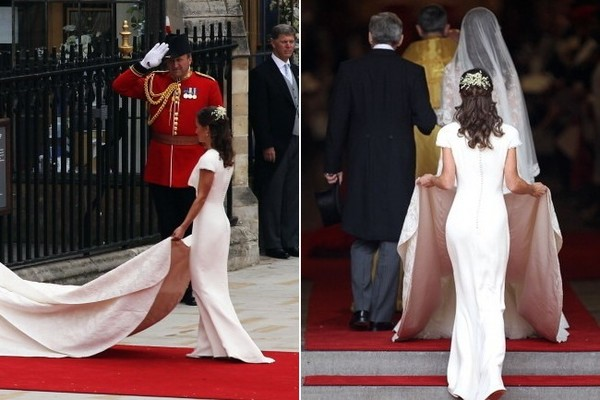 Pippa Middleton's Figure-Hugging Bridesmaid Dress (2011)