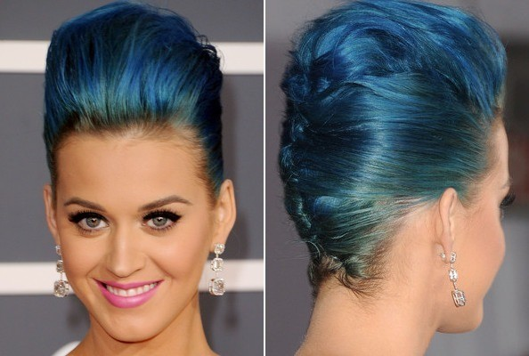 Katy Perry's Tremendous French Twist