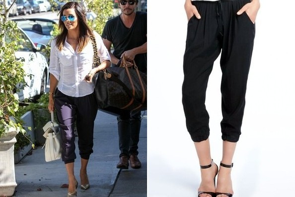 Found: Eva Longoria's Chic Pants