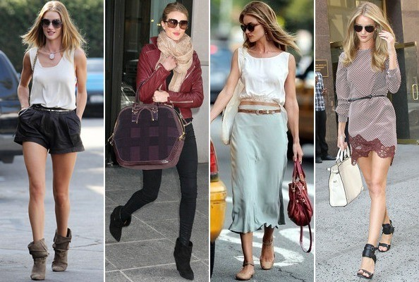 Street Style Spotlight - Rosie Huntington-Whiteley