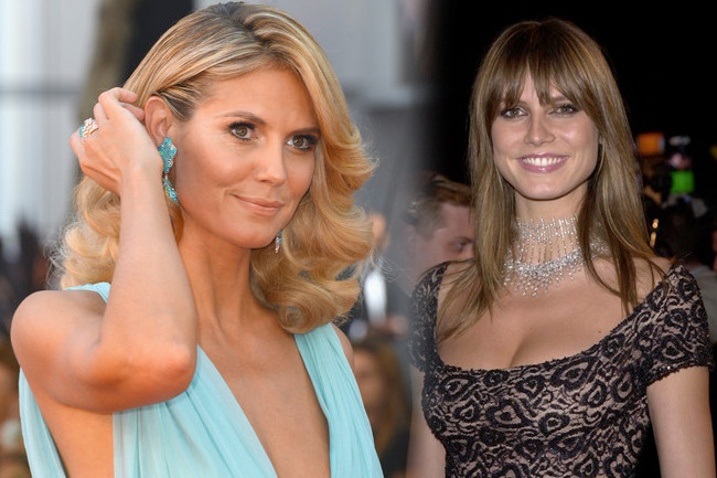 Fashion Flashback: Heidi Klum Then & Now