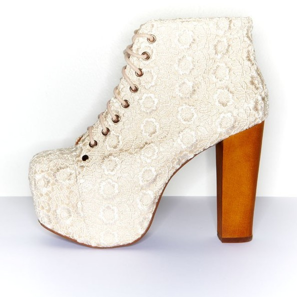 This Is What Jeffrey Campbell Bridal Shoes Look Like