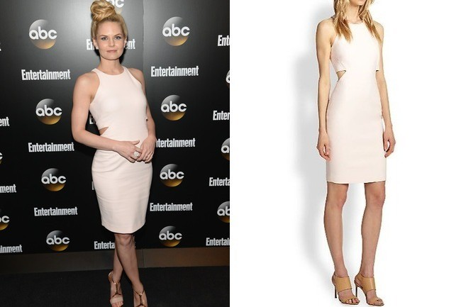 Jennifer Morrison Blush Dress