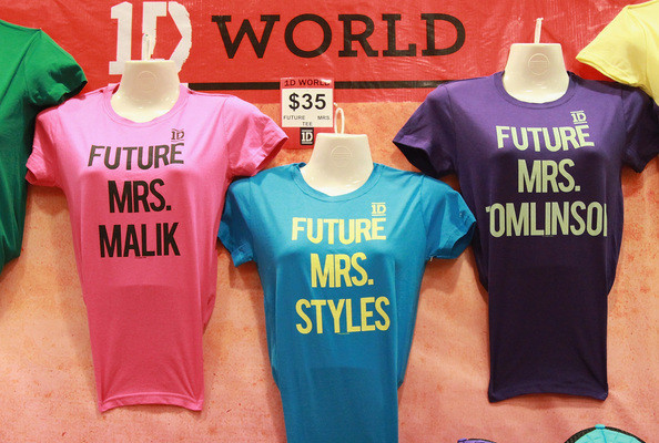 Inside One Direction's NYC Store