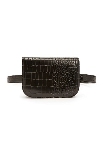 Forever 21: Faux Reptile Leather Belt Bag