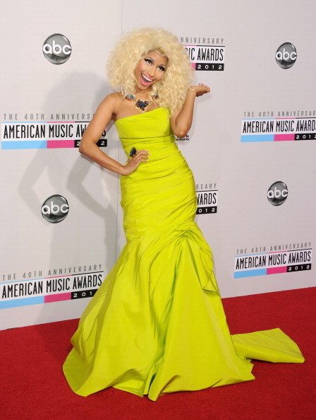 Nicki Minaj at the 2012 AMAs