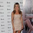 Jennifer Aniston in a Strapless Mini