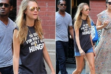 Found: Cara Delevingne's Witty Tee