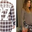 Khloe Kardashian's Flannel Shirt on 'Keeping up with the Kardashians'