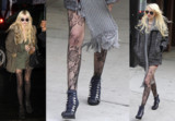 Celebrity Trend - Lace Tights