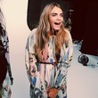Cara Delevingne Models for Burberry