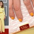Maria Menounos' Nail Art at the 2013 Grammy Awards