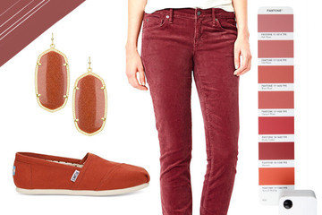 Shop Fashions in Pantone's 2015 Color of the Year: Marsala